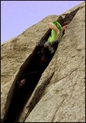 Rock Climbing Photo: Rob on Wild Things.  Thinking about leaving the sa...