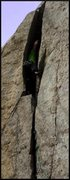 Rock Climbing Photo: It really is pretty dang steep.