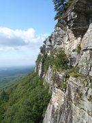 Rock Climbing Photo: Taken from High E ledge.