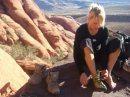 climbing in redrocks, LV