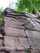 Rock Climbing Photo: Practice Face
