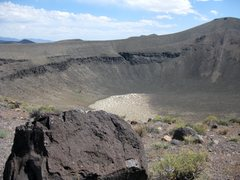 Rock Climbing Photo: Lunar Crater.  Taken 6/16/10