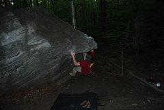 Rock Climbing Photo: Stylin' it.