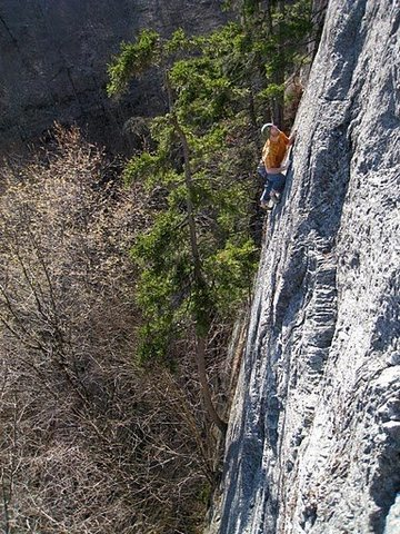 Rock Climbing Photo: Another nice shot by Travis Peckham.