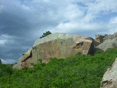 Rock Climbing Photo: Eliminator Boulder from afar.