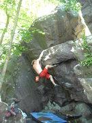 Rock Climbing Photo: Vince on Intercourse Arete.
