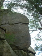 "Rock Climbing Photo: ""Right"" route."