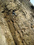 Rock Climbing Photo: The classic/fantastic Le Cosmos route at Dave