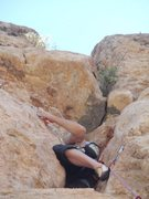 Rock Climbing Photo: Now this was were it got sketchy, climbing up the ...