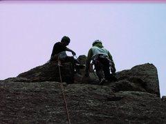 Rock Climbing Photo: easy walk up very nice view