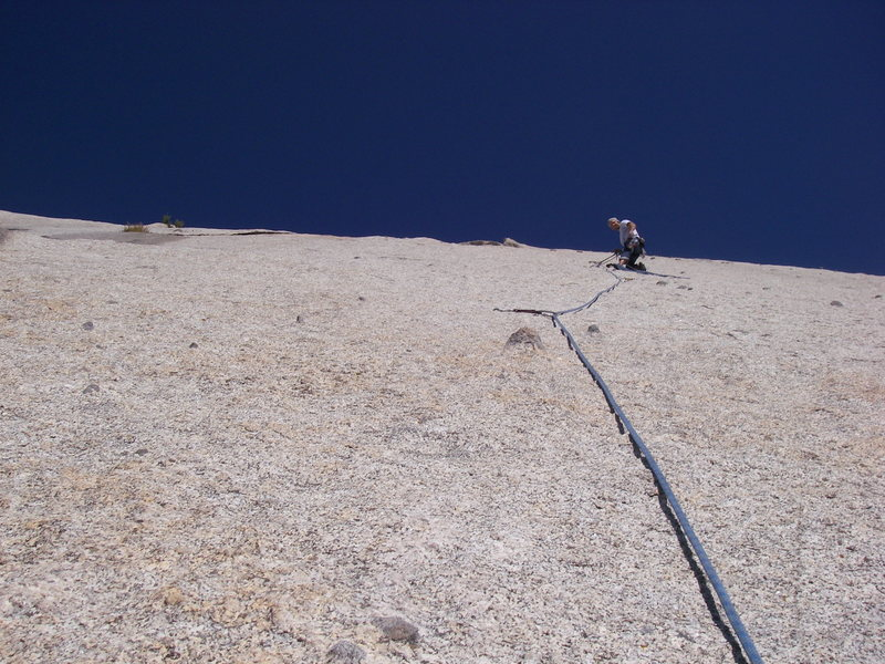 Rock Climbing Photo: sea of granite