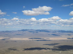 Rock Climbing Photo: View of the Mojave Desert from the third tier at C...