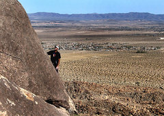 """Rock Climbing Photo: Todd Gordon on the FA of """"The Knights of the ..."""