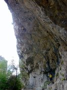 Rock Climbing Photo: It's pretty steep.