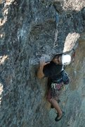 Rock Climbing Photo: Hale flashing...Those who have done this route mig...