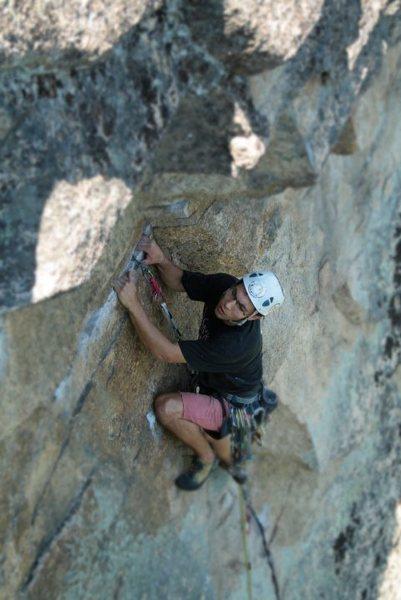 Rock Climbing Photo: hale... climbing