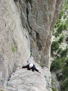 Rock Climbing Photo: Can be climbed using the offwidth or the stemming ...