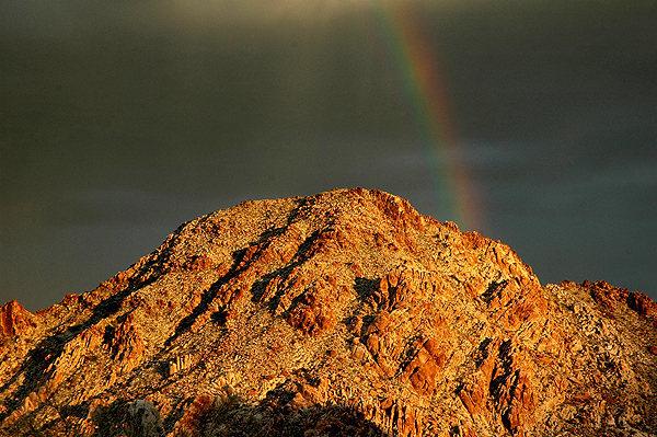 A rainbow.<br> Photo by Blitzo.