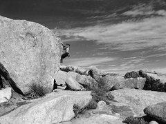 Rock Climbing Photo: Native Arete.   Photo by Blitzo.
