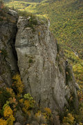 Rock Climbing Photo: Mummy Buttress in the fall.