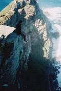 Rock Climbing Photo: Teetering on the Cape of Good Hope
