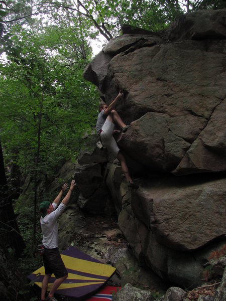Rock Climbing Photo: Jake on the FA of the Prow. Proud send indeed and ...