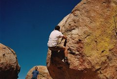 Rock Climbing Photo: Bouldering to the highest point in Zimbabwe... Mat...