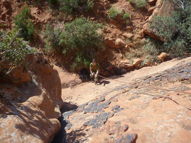 Rock Climbing Photo: trad climbing!
