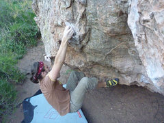Rock Climbing Photo: bouldering in garden of the gods