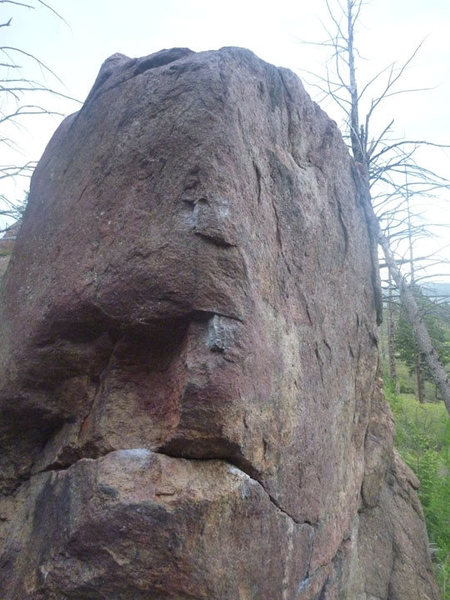 Rock Climbing Photo: cool slappy boulder problem