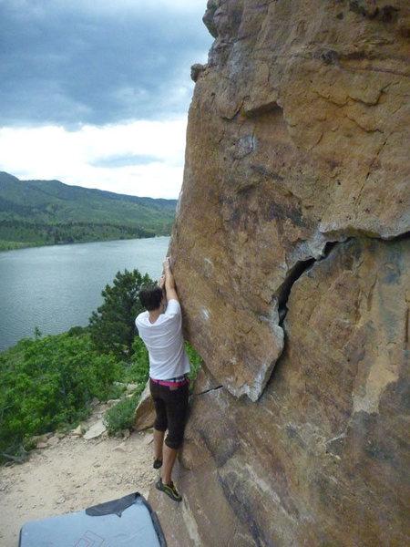 Rock Climbing Photo: horsetooth
