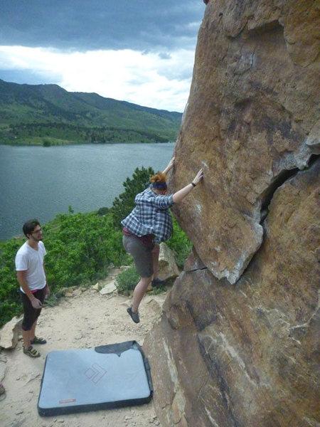 Rock Climbing Photo: more horsetooth