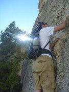 Rock Climbing Photo: sinks canyon