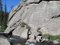 """Rock Climbing Photo: Matt Bruton on """"Sleeping Beauty""""."""