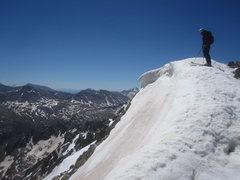 Rock Climbing Photo: Huron Peak ski descent.