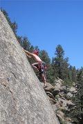 Rock Climbing Photo: More thin technical climbing by Matt Bruton.