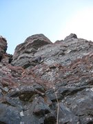 Rock Climbing Photo: Final of pitch of what we thought was the Black St...
