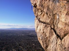Rock Climbing Photo: clips to the sky... Gangsta Ledge