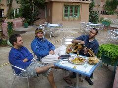 Rock Climbing Photo: wine, chicken tagine and Hammurabi's serenades... ...