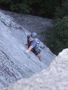 Rock Climbing Photo: Me at one of the easier, but still tough moves on ...
