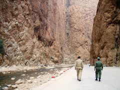 Rock Climbing Photo: gorge security