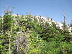 Rock Climbing Photo: This ledge has excellent climbing on it. After tha...