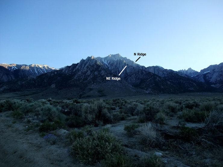 N & NE Ridges