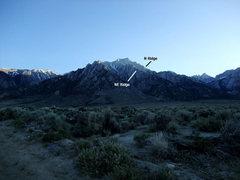 Rock Climbing Photo: N & NE Ridges