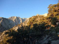 Rock Climbing Photo: sandy lower section