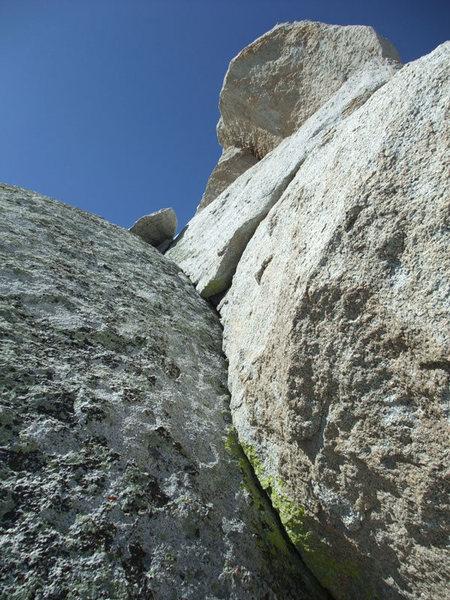 Rock Climbing Photo: easy finger crack