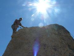 Rock Climbing Photo: T.T. on T.F.F.W.