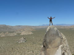 Rock Climbing Photo: Tucker Tech on the summit.