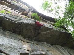 Rock Climbing Photo: chris vultaggio on laughing man