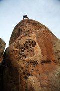 Rock Climbing Photo: Jonny about to rap.